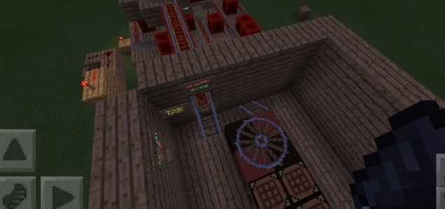 Redstone powered Roulette