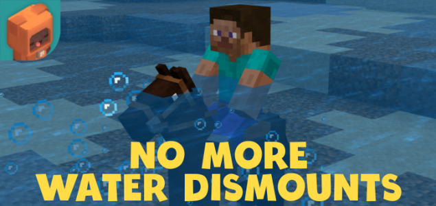 No More Water Dismounts